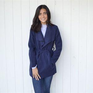 Jackets & Blazers - Draped wrap coat